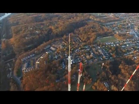 1276 feet tall Radio/TV tower in Roxborough near Philadelphia