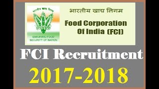 Food Corporation Of India R.J. Watchman 281 Vacancy Apply Fast, FCI RJ Vacncy