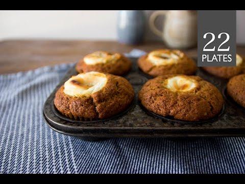 Pumpkin Cream Cheese Muffins | TwentyTwoPlates