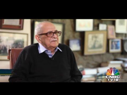 Eminent Jurist Fali Nariman Exclusive Interview | CNBC TV18