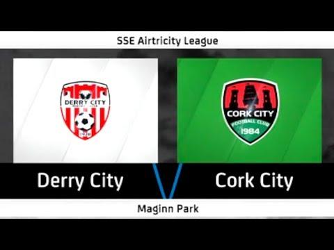 Highlights: Derry City 1-2 Cork City