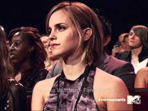 Emma Watson en los MTV Movie Awards 2012