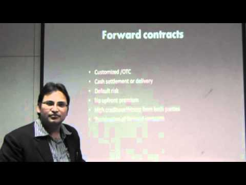 Derivatives- Forward Contract