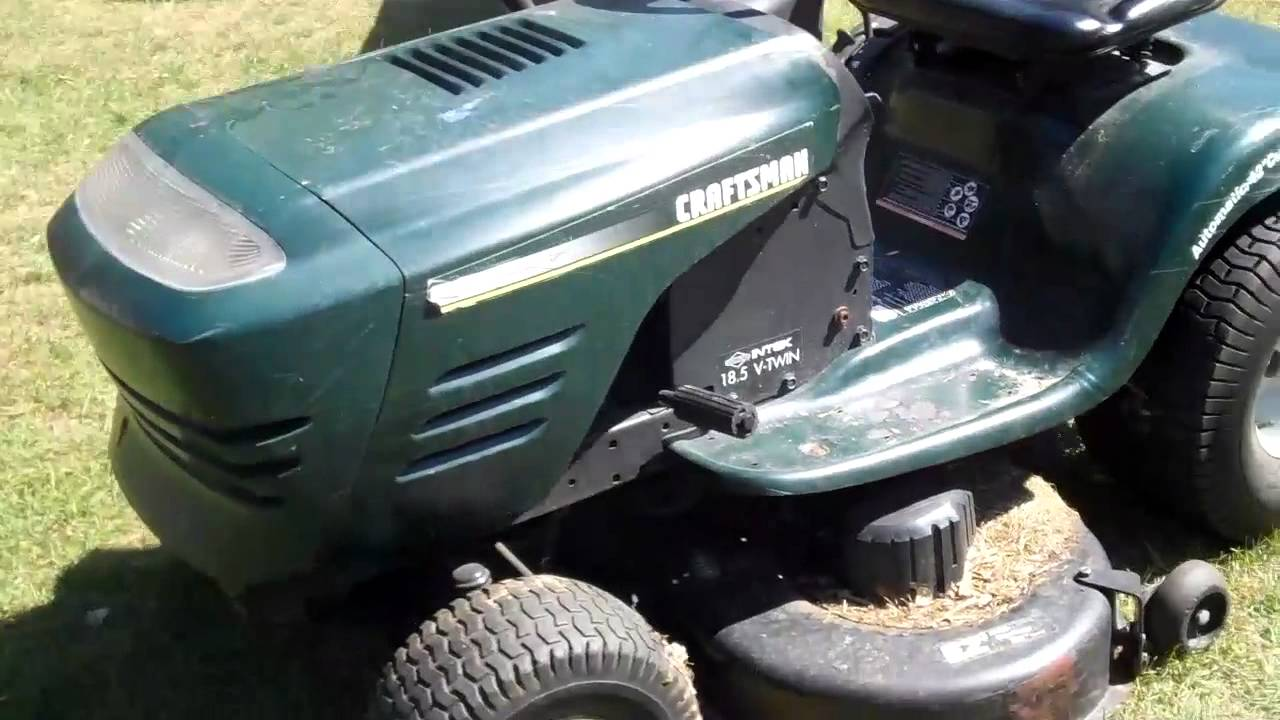 What A Blown Engine Sounds Like Craftsman V Twin Riding Lawn Rear Mower On Honda Parts Diagram Youtube