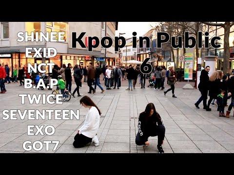 Kpop in public #6 EXID, NCT, Shinee, Twice, EXO, Seventeen, GOT7, B.A.P