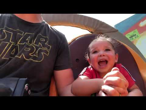 Puppet Shack: My 3 Year Olds First Roller Coaster On Slinky Dog Dash