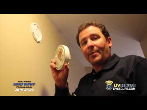 Rich Zeoli (1210 WPHT Radio) Installs a LivSecure System