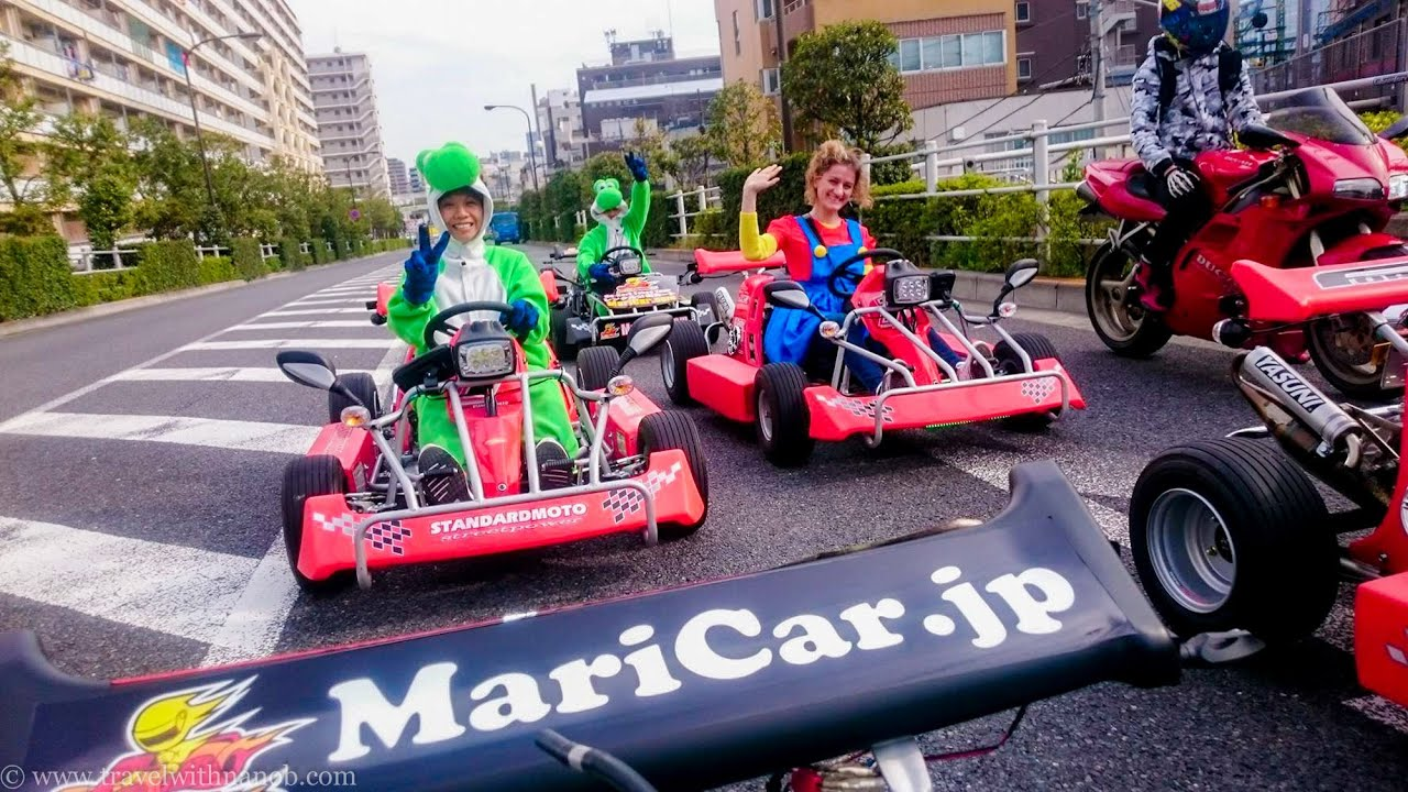 japan kart Public Road Go Kart Tour