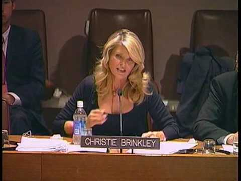 Christie Brinkley on Nuclear Disarmament and Non-Proliferation