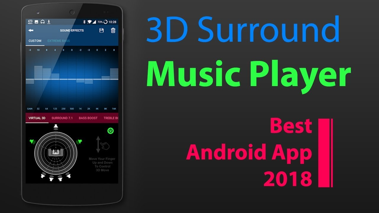 Music Player | 3D Surround | Best Android App 2019