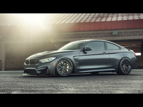 Frozen Gray BMW M4 GTS gets FIRST ADVANCED Series Wheels