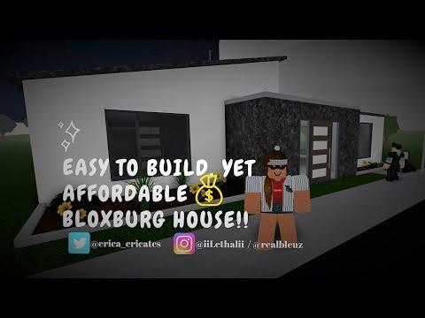 Roblox Bloxburg Tiny Modern House 7k Speed Build