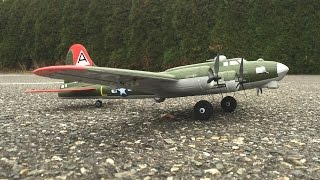 Flight Two - E-Flite UMX B-17 Flying Fortress WWII Bomber with AS3X Technology