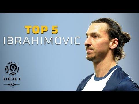 Zlatan Ibrahimovic - Top 5 Goals - PSG / Ligue 1