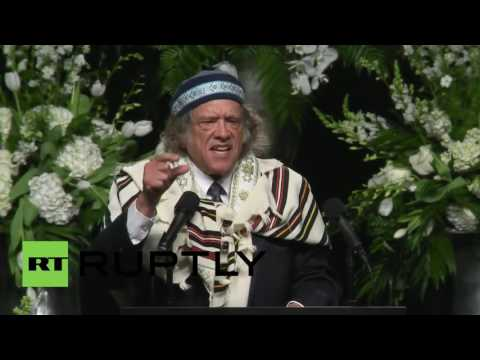 USA: Rabbi Michael Lerner slams Israel and Turkey at Muhammad Ali's funeral