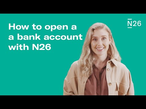 How to open an account with N26