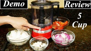 KitchenAid 5 Cup Food Processor Review