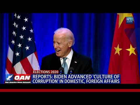 Biden advanced 'culture of corruption' in domestic, foreign affairs