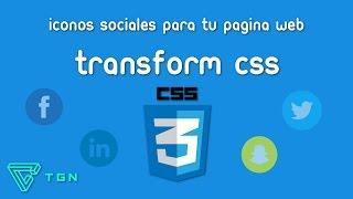 Iconos personalizados para tu pagina web - Iconos con CSS