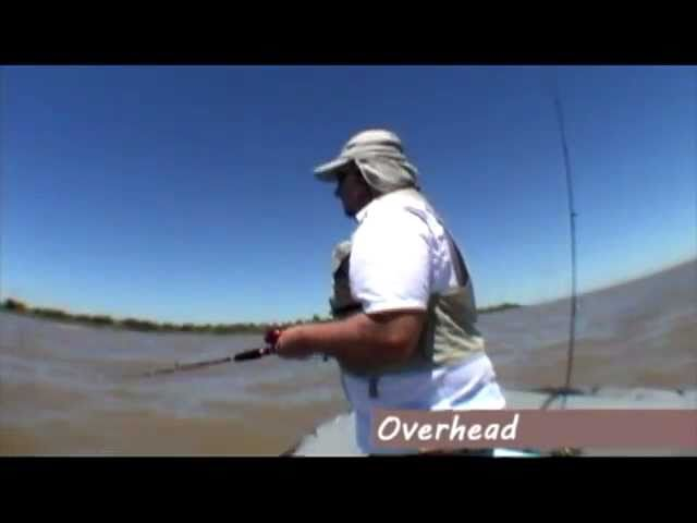 Cómo pescar con Bait Cast / How to Bait Cast Fishing. Waterdog, by Wald Videos De Viajes