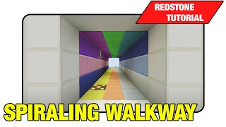 "Spiraling Walkway ""Tutorial"" (Minecraft Xbox/Ps3 TU16)"