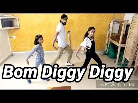 """Bom Diggy Diggy"" Dance Performance @shubhamtaak Choreography"