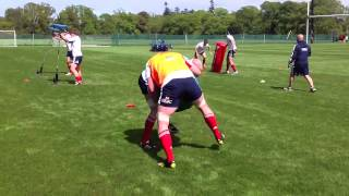 British and Irish lions training 2013