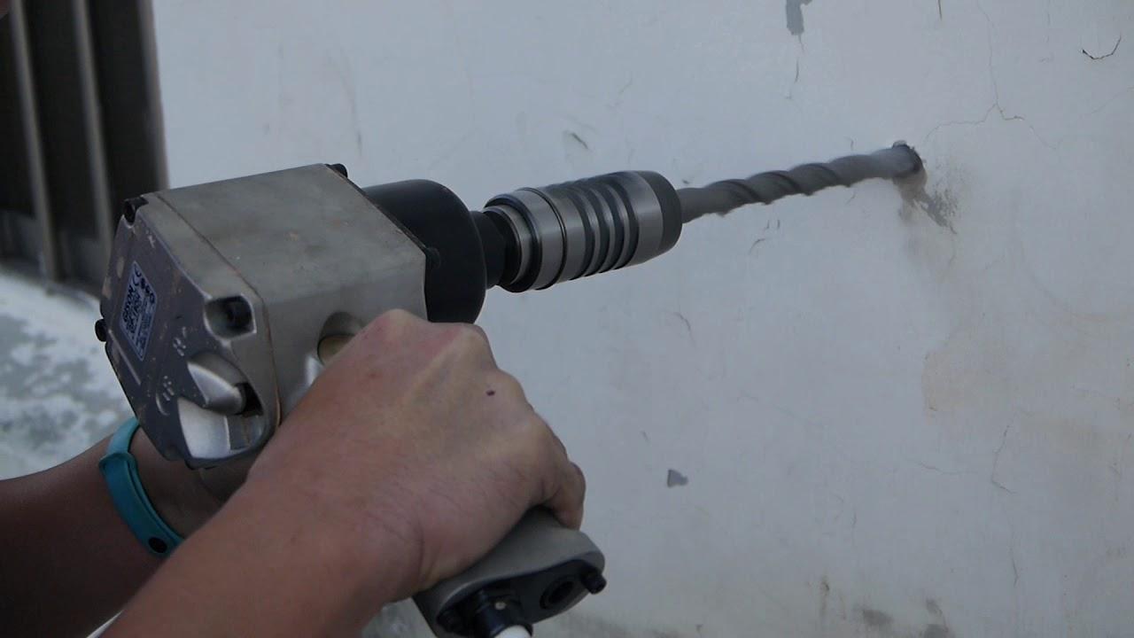GP-19DH Rotary Air Impact Hammer Drill (SDS-plus,3500-6500rpm) - using 18  mm drill bit
