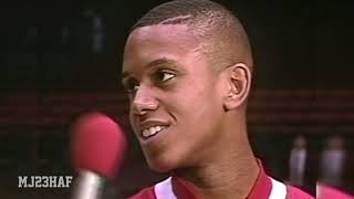 BJ Armstrong Post-Game Interview (1991.03.28)