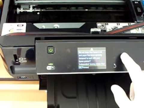 How To Clean Epson Expression Premium Xp500 Xp600 Xp700