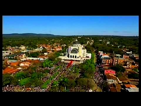 Pope in South America - Holy Mass in the square of the Marian Shrine of Caacupé
