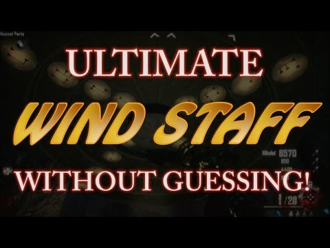 *NEW* Craft Ultimate WIND Staff WITHOUT GUESSING! Full In-Depth Guide! (Origins Zombies)