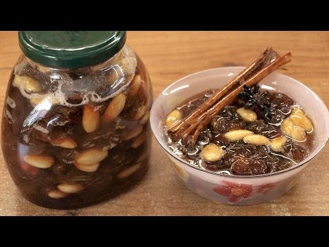 Варенье из винограда / How To Make Grape Jam With Almonds ♡ English Subtitles