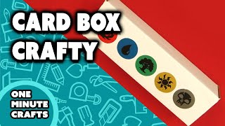 CARD BOX CRAFTY - One Minute Crafts