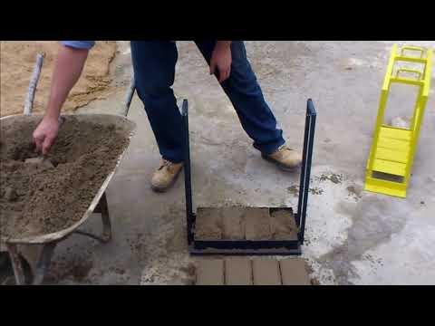 Своими руками станок для изготовления тротуарной плитки