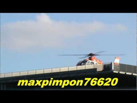 Hélicoptère x2 / SÉCURITÉ CIVILE & SAMU 61 ( CHU CAEN 14 )