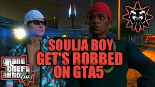 SOULJA BOY GETS ROBBED ON GTA 5 (SKIT) HQ