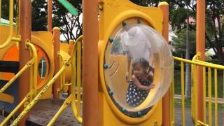 Outdoor Playground Fun for Kids & Children | Family Park with Slides - Playing with dad - EP1