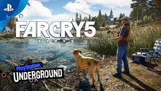 Far Cry 5 Gameplay Demo with Boomer the Dog - PS Underground | E3 2017
