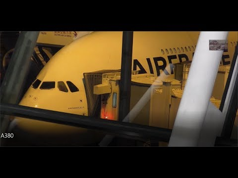 Flight report AIR FRANCE Airbus A380 SHANGHAI-PARIS AF111