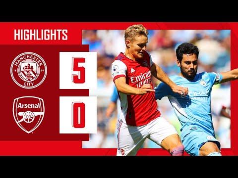 HIGHLIGHTS |  Manchester City - Arsenal (5-0) |  Premier league