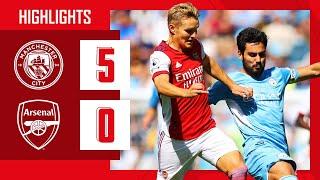 HIGHLIGHTS   Manchester City vs Arsenal (5-0)