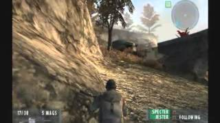 Socom II: U.S. Navy SEALs (PS2) Single Player Gameplay