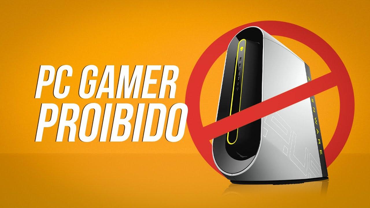 Por que a venda desse PC não é permitida?
