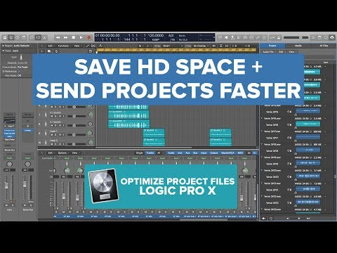 Optimize Project Audio Files in Logic Pro X