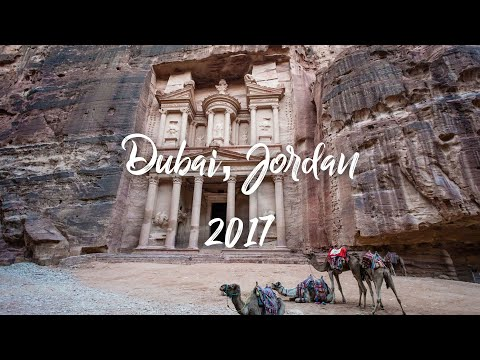 Dubai, Jordan Trip 2017