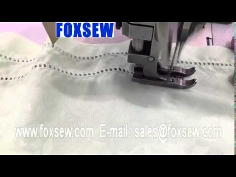 Double Needle Hemstitch Picoting Sewing Machine YouTube Classy Hem Stitch Sewing Machine