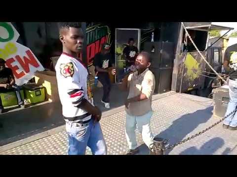 9 year Old Rap Freestyle Zambia