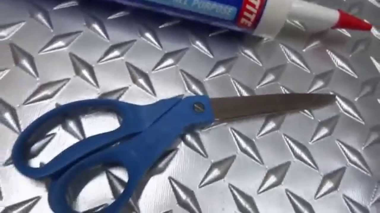 Faux tin backsplash PVC looks like metal DIY - YouTube