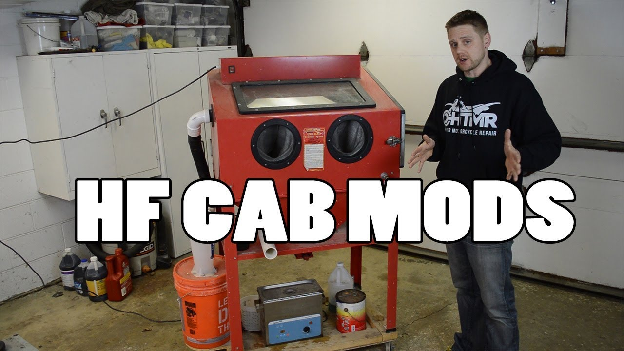 8 MUST Have Modifications - Harbor Freight Blast Cabinet
